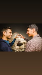 Read more about the article Love seeks no boundaries-Sushank.
