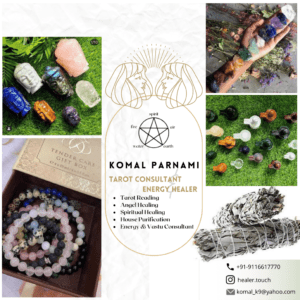 Read more about the article Komal Parnami: Stumbling upon Tarot and Card Reading