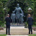 Princess Diana's Statue Unveiled at Kensington Palace