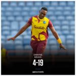 West Indies vs South Africa, 4th T20I