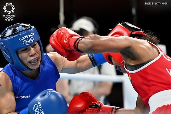 Read more about the article Mary Kom Loses In The Round of 16: Tokyo Olympics