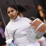 Bhavani Devi Wins First Fencing Match For India