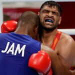 Satish Kumar Fought With 13 Stitches in Tokyo Olympics