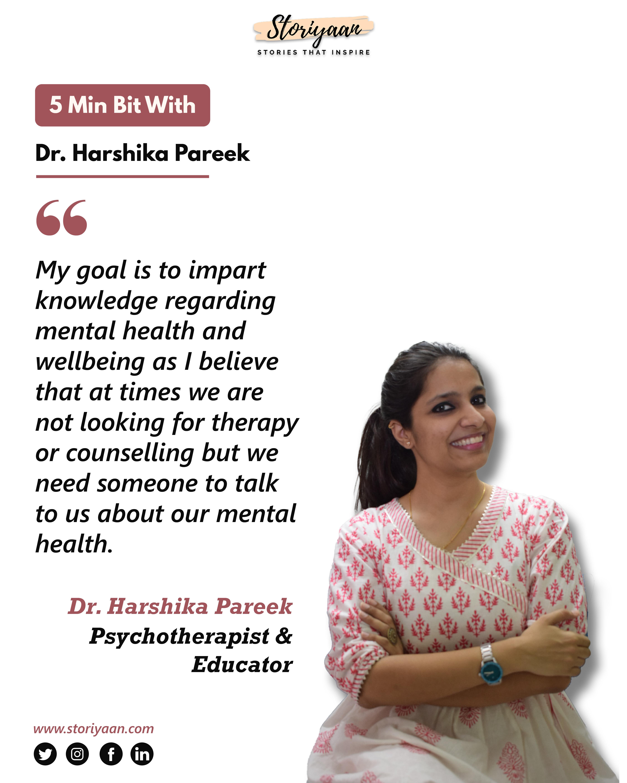 Dr. Harshika Pareek