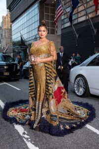 Read more about the article ONLY INDIAN TO ATTEND MET GALA: SUDHA REDDY