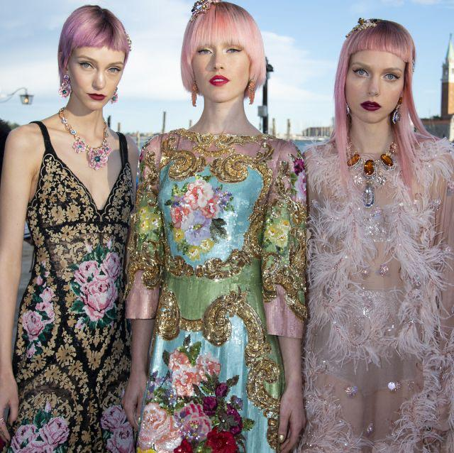 Revolutionary haute couture by Dolce Gabbana and Christian Dior
